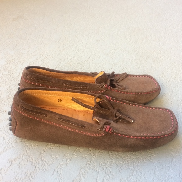 26d12a43188 TOD S for Ferrari Suede Gommino Moccasins 5.5. M 5a5be5eb3b160887e02c89ec